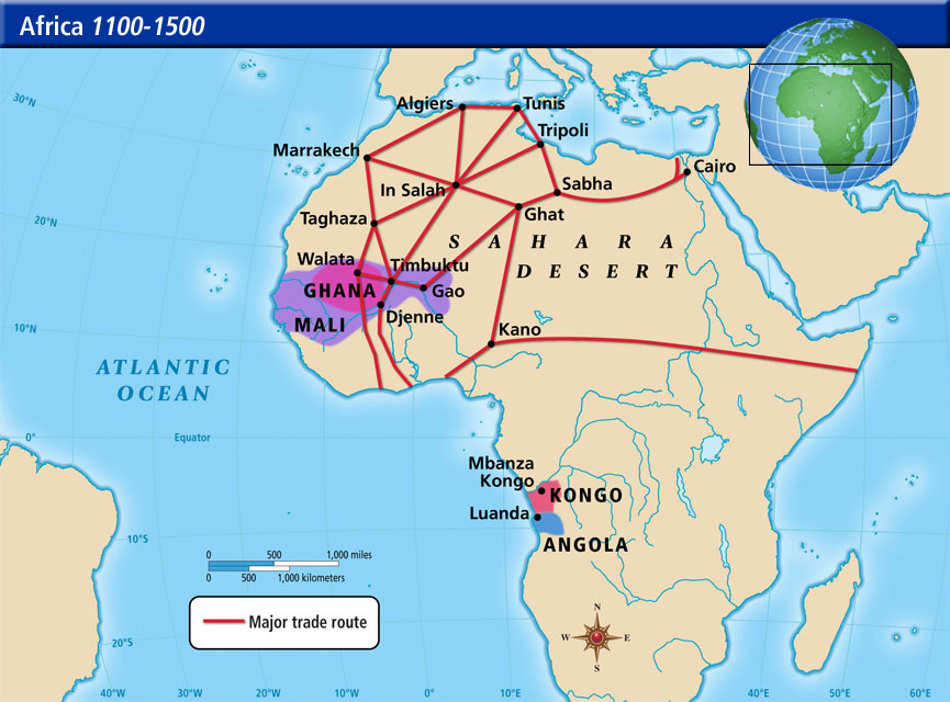 meaning of trans saharan trade